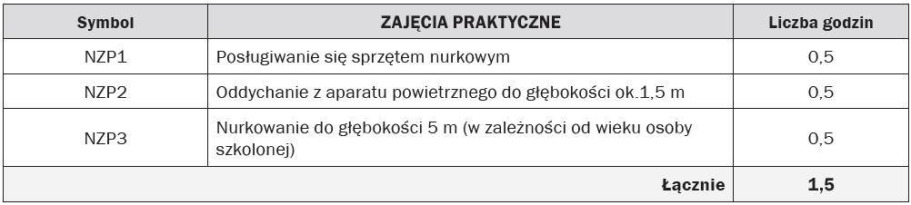 RAMOWY PROGRAM SZKOLENIA
