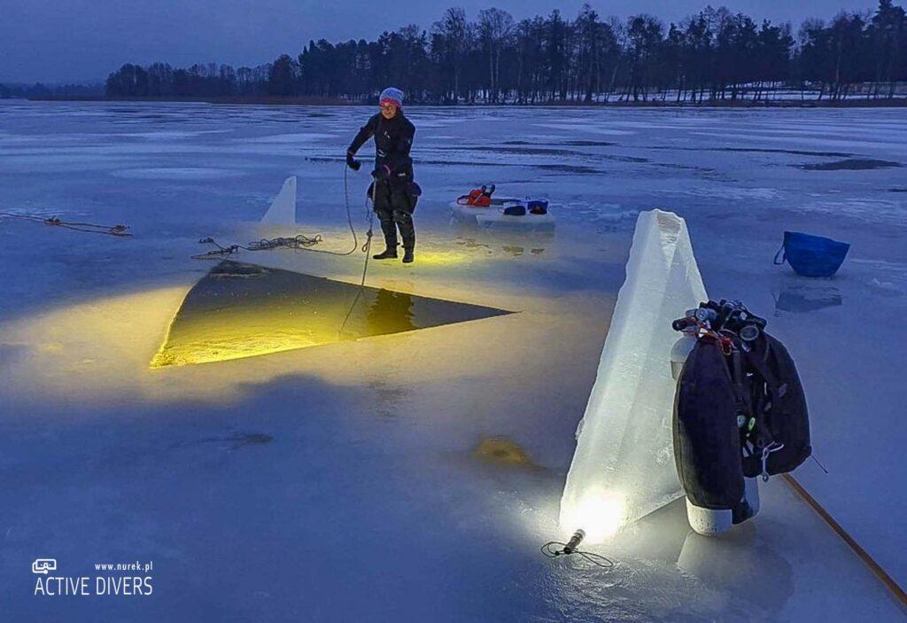Kurs nurkowania podlodowego Active Divers - Ice Scuba Diver